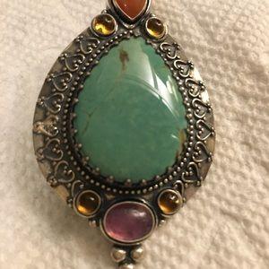 Jewelry - Turquoise pendant
